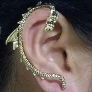 Game of Thrones 1 Piece Dragon Cuff forPierced Ear